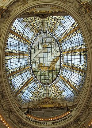 City of Paris Dry Goods Co. - City of Paris rotunda dome
