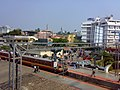City viewCentral railway Station from second Over Bridge - panoramio.jpg