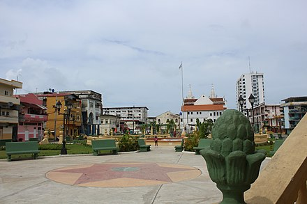 Colon City, capital of the Colon province. Ciudad de Colon, Panama.jpg