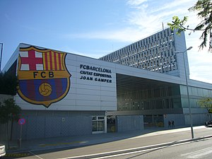 Ciutat Esportiva Joan Gamper - Image: Ciutat Esportiva Joan Gamper 2