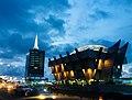Civic Centre at night, Lagos Nigeria.jpg