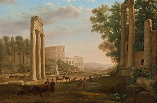 Capriccio with Ruins of the Roman Forum