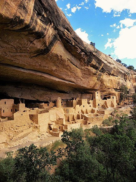Cliff Palace, Mesa Verde, Colorado, From WikimediaPhotos