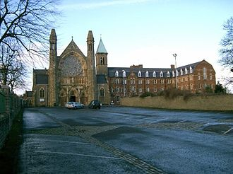 1969 Northern Ireland riots - There was fierce rioting in streets around Clonard Monastery (pictured), where hundreds of Catholic homes were burned
