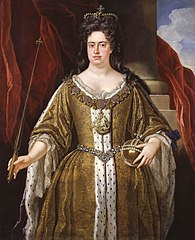 Queen Anne in 1702