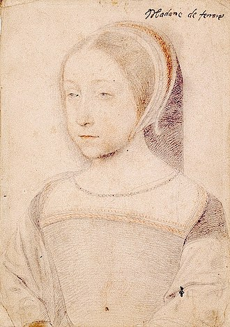 Renée - Renée of France was a 16th-century French princess