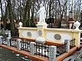 Cmentarz przykościelny, pocz. XX Lisewo Kościelne.JPG