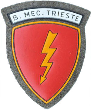 Trieste Mechanized Brigade - Coat of Arms of the Trieste Mechanized Brigade