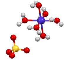 Cobalt(II) sulfate Xray