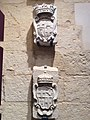 Coat-of-arms and inscriptions at War Museum at St Elmo 16.jpg
