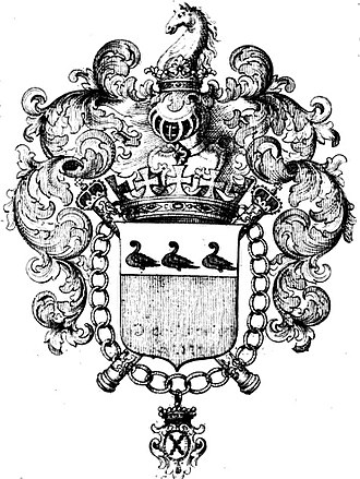 King of Arms - Louis d'Ursel was the King of Arms of Flanders