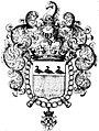 Coat duLovis dUrsel king Arms Flanders.jpg
