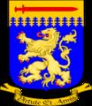 Coat of Arms Bomholt Våbenskjold uden hjelmtegn med motto 2.png