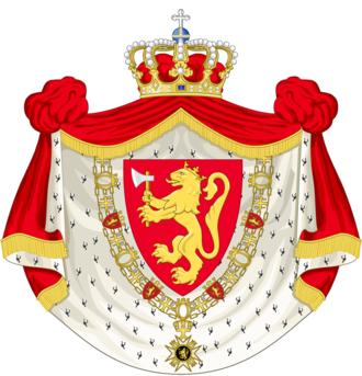 Queen Sonja of Norway - Image: Coat of arms of Queen Sonja of Norway