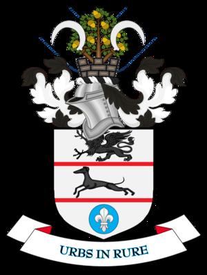 Metropolitan Borough of Solihull - Image: Coat of arms of Solihull Metropolitan Borough Council