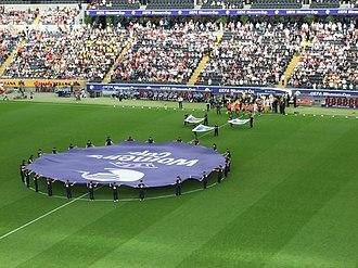 UEFA Women's Champions League - Image: Coba arena ffm 007