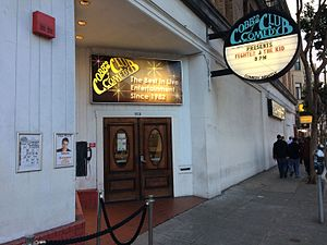 Cobb's Comedy Club - Image: Cobb's Comedy Club entrance, 2017 02 10