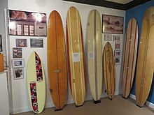 Exhibit at Cocoa Beach Surf Museum. Ron Jon Surf Shop ... d05fded0c38