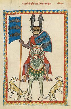 Codex Manesse 160v Wachsmut von Künzingen.jpg