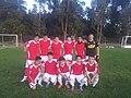 Colegio de la Preciosa Sangre de Pichilemu soccer team, 2013.jpg