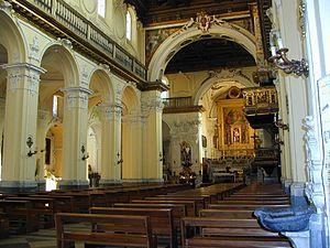 Solofra - Interior of Collegiata