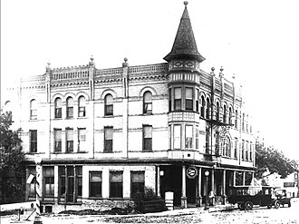 National Register of Historic Places listings in Big Stone County, Minnesota - Image: Columbian Hotel (Ortonville MN)