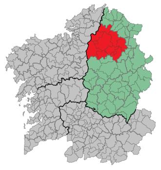 Lourenzá - Image: Comarca Terra Chá