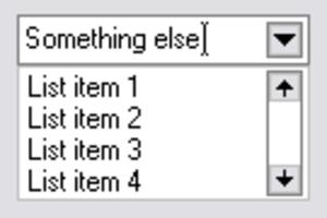Combo box - A generic combo box