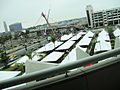 Comic-Con 2010 - a view of the new Hall H line canopies from above (4875045066).jpg