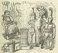 Comic History of Rome p 051 Mucius Scaevola before Porsenna.jpg
