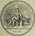 Commemorative medallion 1671 – Lemonnier 1929 t X, p V – U of Toronto, Internet Archive.png
