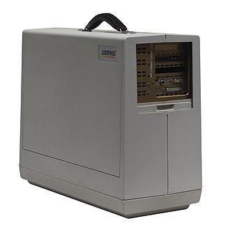 Compaq Portable - Image: Compaq portable IMG 7218