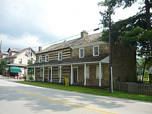 Ligonier Township, Westmoreland County, Pennsylvania - Compass Inn (1799) National Register of Historic Places