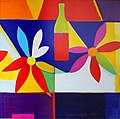 Composition with Flowers and Bottles 2000.jpg