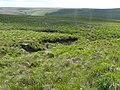 Confluence of streams, Wham Head, Marsden - geograph.org.uk - 929998.jpg