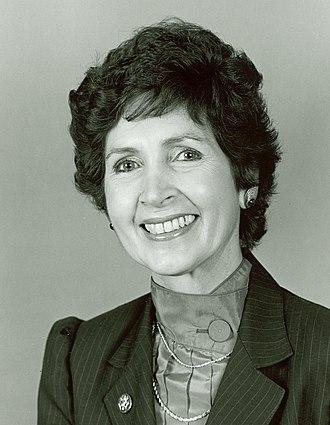 Connie Morella - Congresswoman Connie Morella
