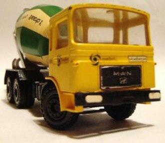 Conrad Models - Man Cement Truck.