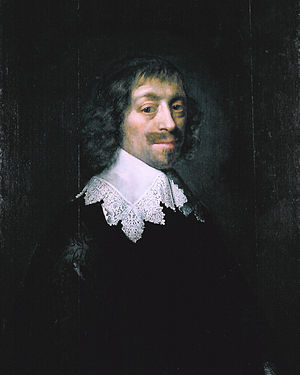 Constantijn Huygens (1596-1687), by Michiel Jansz van Mierevelt