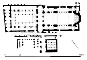 Ground plan of the church