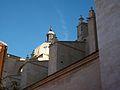 Contraforts i cúpula de la Col·legiata de Santa Maria de Xàtiva.JPG