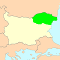 Copper-Red Shumen Sheep area of distribution.PNG