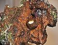 Copper crystal in copper mass (Mesoproterozoic, 1.05-1.06 Ga; Ahmeek, Upper Peninsula of Michigan, USA) 1 (16673303324).jpg