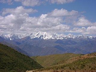 Huacrish mountain in Peru