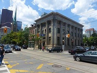 Old Town, Toronto - Image: Corner of Jarvis and King, 2014 07 06 (1).JPG panoramio