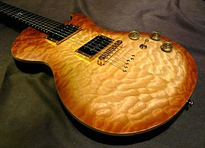 Cort Guitars - Cort Z-Custom Open Pore Natural Burst, from Zenox Series