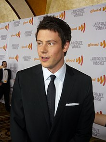 Cory Monteith 2010 GLAAD Media Awards.jpg