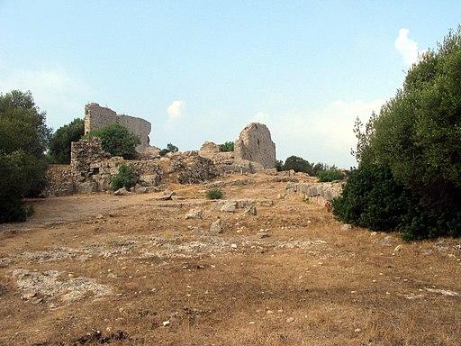 Via Sacra verso l'Acropoli, Cosa, Ansedonia