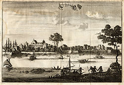 Dutch East India Company ships in Kodungallur (1708)