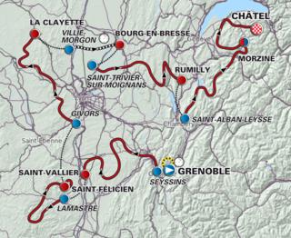 2012 Critérium du Dauphiné cycling race