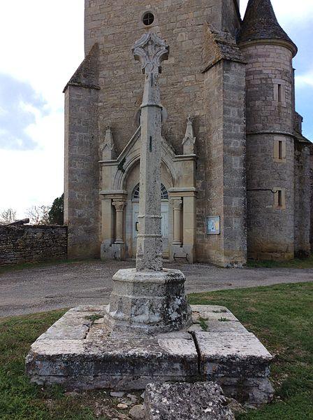 Croix de Beauregard, face 2